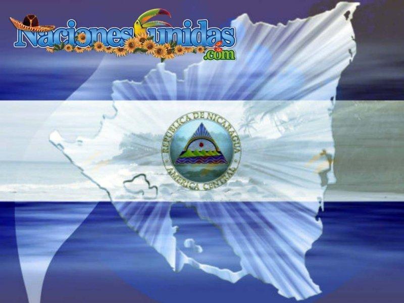bandera nicaraguense
