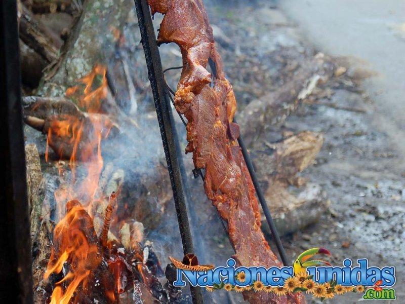carne a la bara